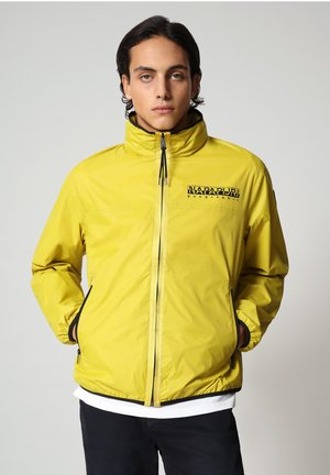 ARINO - Light jacket - yellow moss