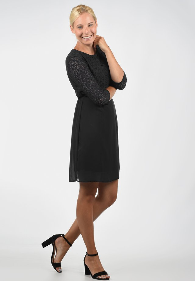 SPITZENKLEID EVE - Cocktail dress / Party dress - black