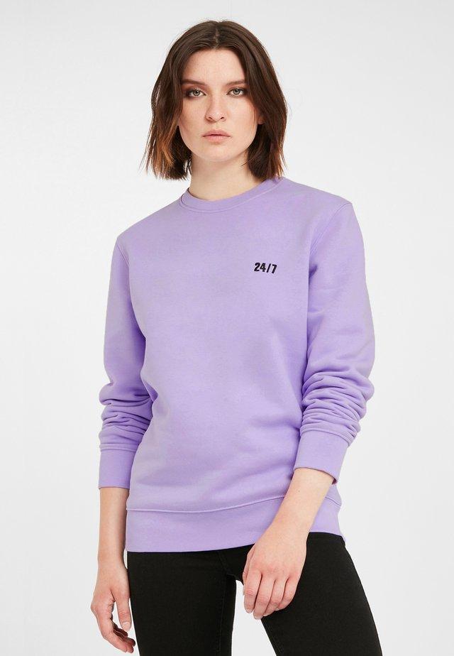 Sweatshirt - lila