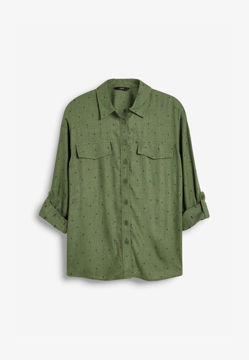 Next - UTILITY - Button-down blouse - khaki