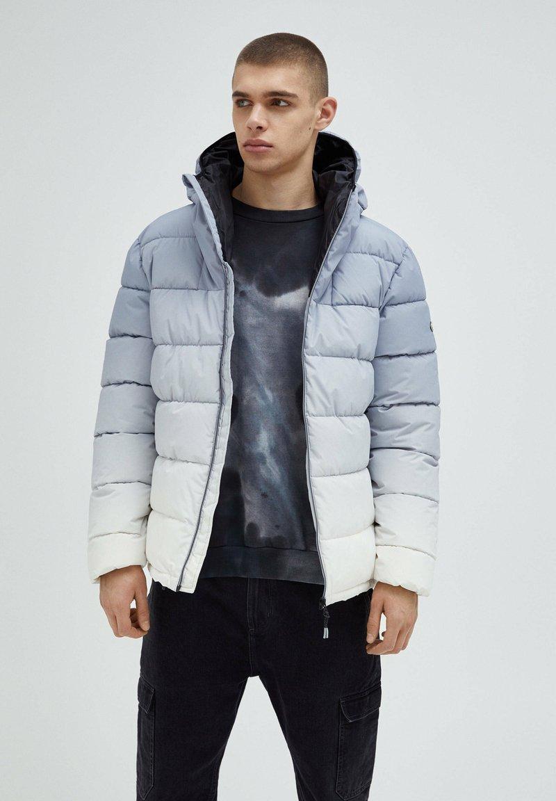PULL&BEAR - Winter jacket - light grey