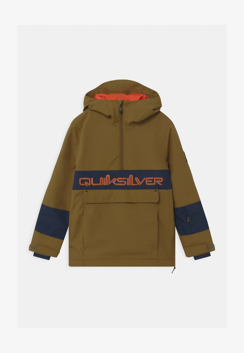 Quiksilver - STEEZE YOUTH UNISEX - Snowboard jacket - military olive