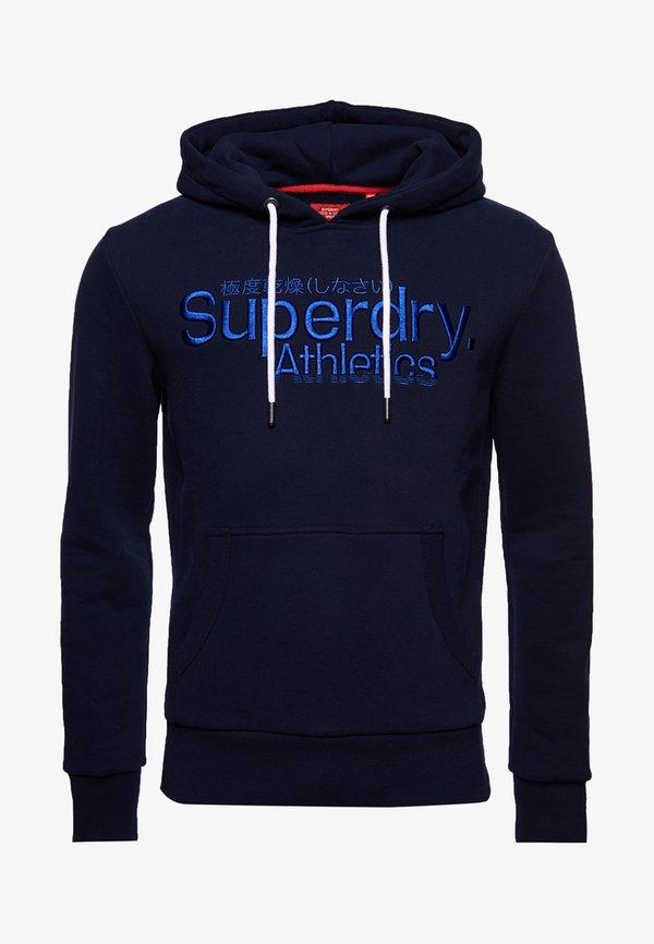 Superdry Bluza z kapturem - optic/niebieski Odzież Męska CRLS