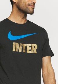 Nike Performance - INTER MAILAND CLUB TEE - Club wear - black - 5