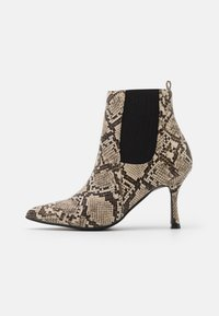 4th & Reckless - EMELIE - High heeled ankle boots - beige - 1