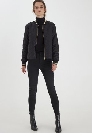 BYBERTA  - Bomber Jacket - black