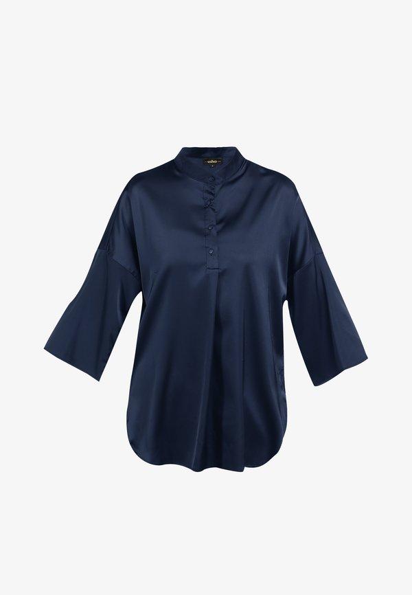 usha BLUSE - Bluzka - marine/niebieski QOXX