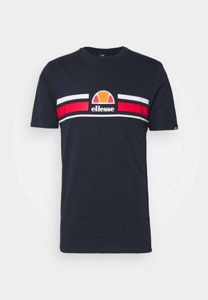 MONTELL - T-shirt z nadrukiem - navy