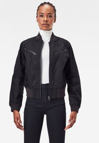 G-Star - FLIGHT BOMBER - Bomber Jacket - pitch black - 0