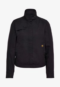 G-Star - SLIM OVER - Summer jacket - dk black - 5