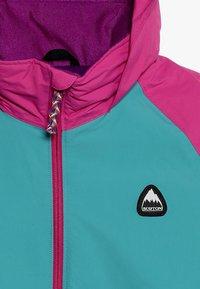 Burton - HART - Snowboardová bunda - green/blue - 5