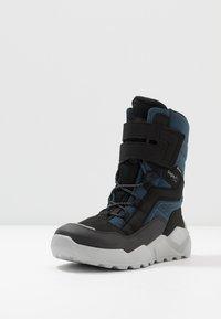 Superfit - ROCKET - Winter boots - schwarz/blau - 2