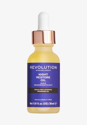 NIGHT RESTORE OIL - Nachtpflege - -