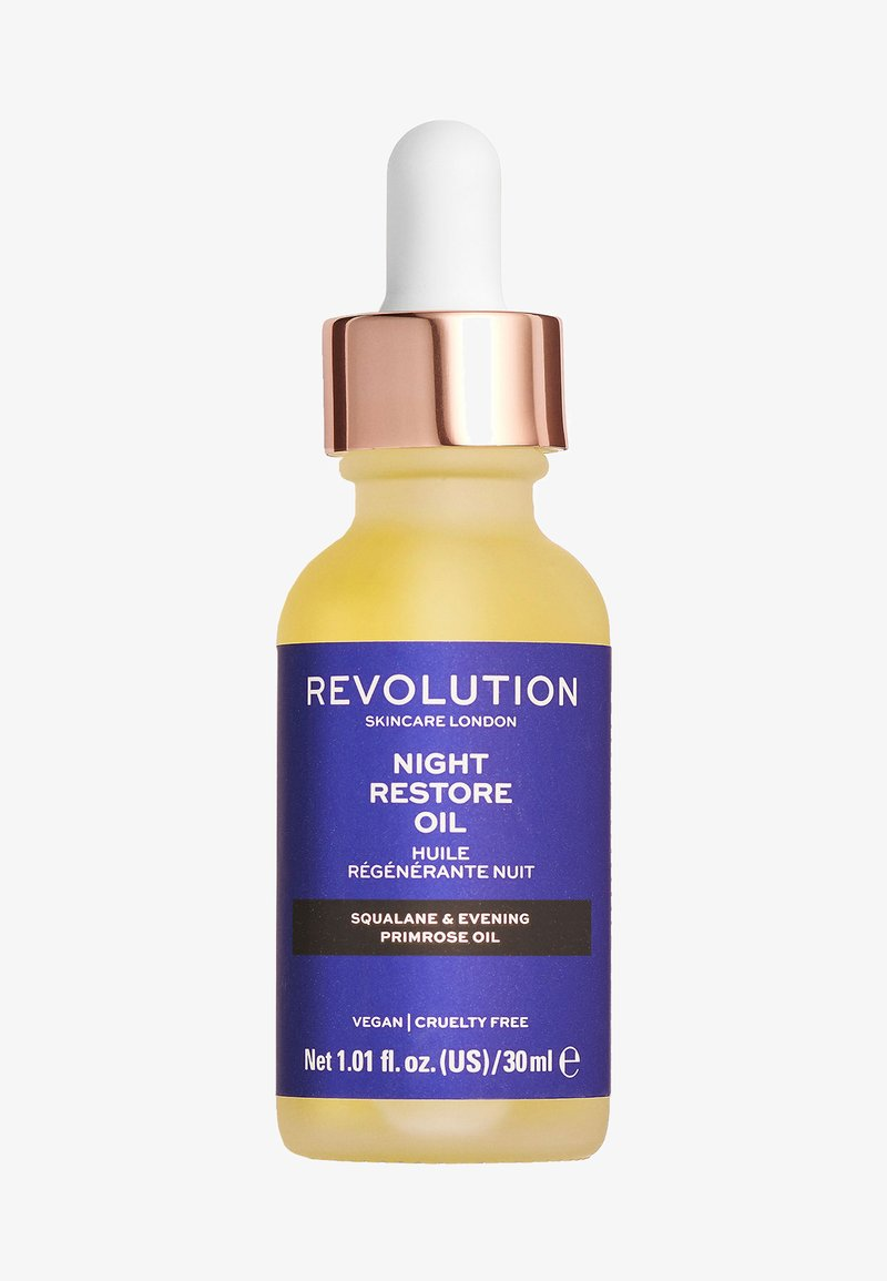 Revolution Skincare - NIGHT RESTORE OIL - Nachtpflege - -