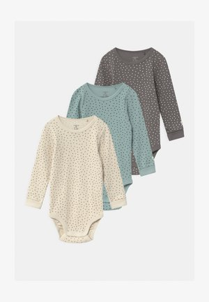 3 PACK UNISEX - Body - light beige/dark dusty green/light dusty aqua