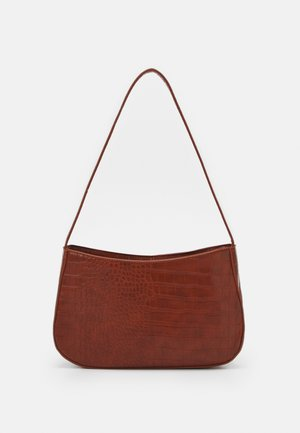 PCDANIA SHOULDER BAG  - Handbag - cognac