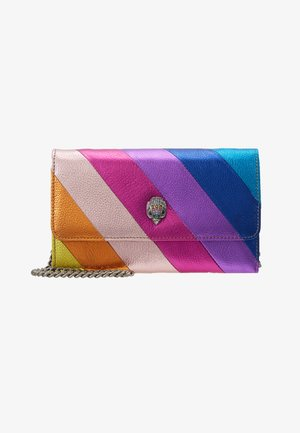 STRIPE CHAIN WALLET - Bandolera - multi-coloured