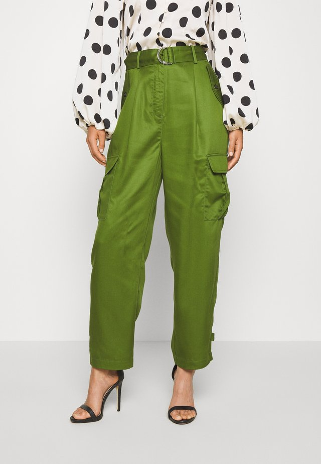 LAMIA PANTS - Trousers - garden green
