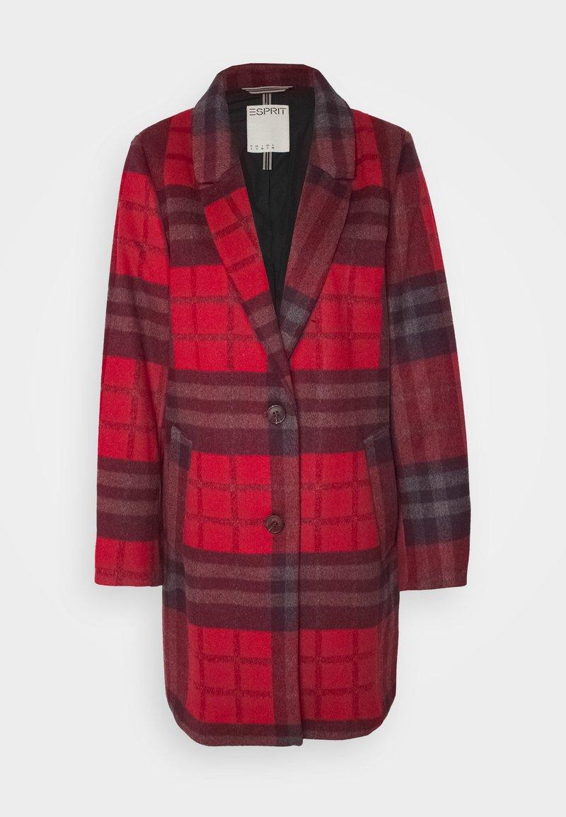 Esprit - Classic coat - red