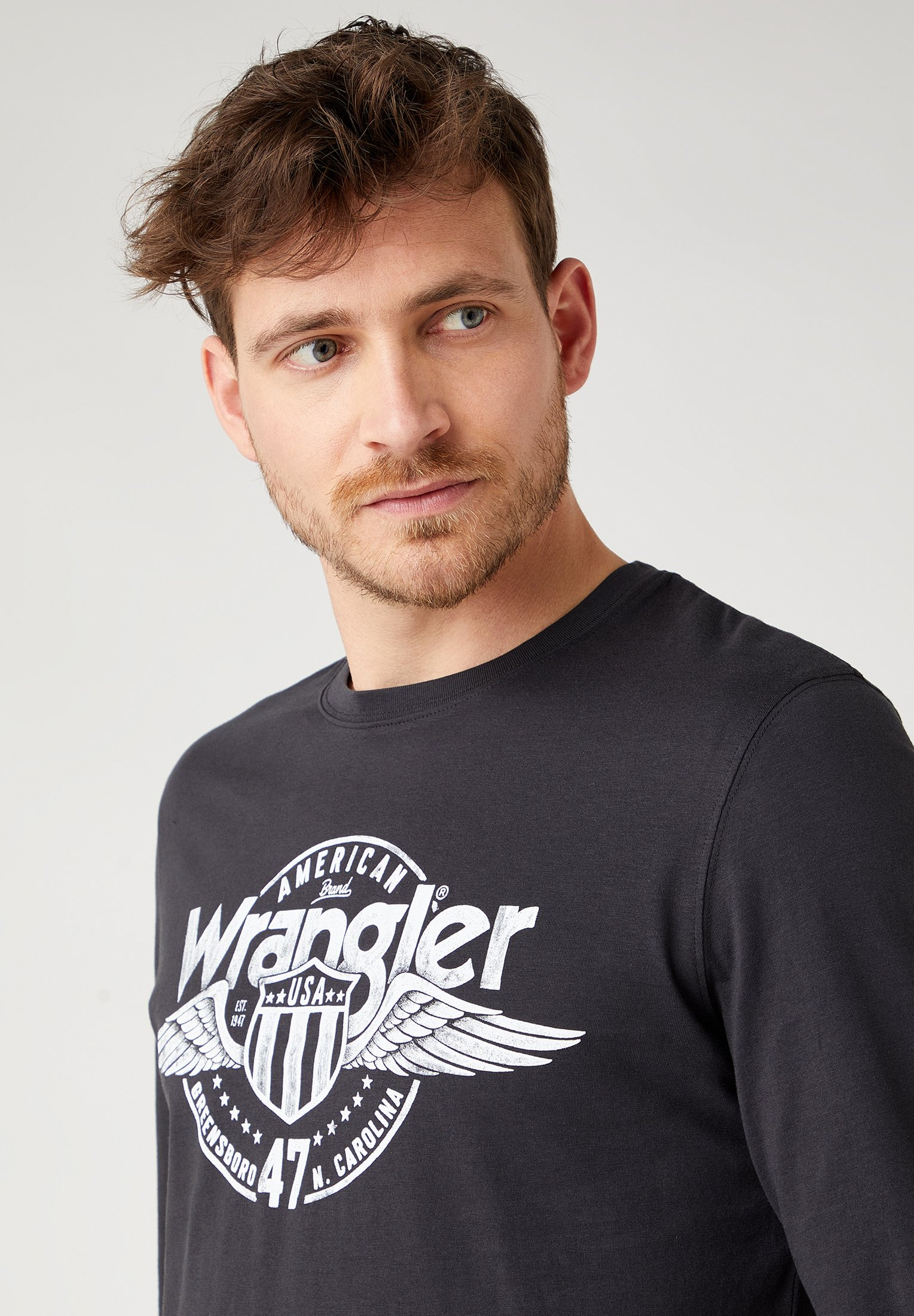 Uomo LS AMERICANA TEE - Maglietta a manica lunga