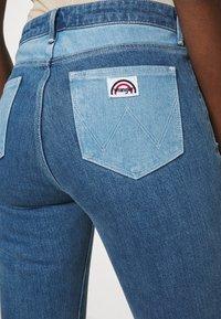 Wrangler - Flared jeans - light blue denim - 6