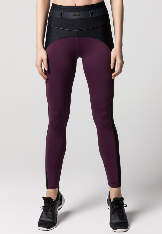 Leggings - mulberry