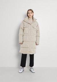 Sixth June - Winter coat - beige - 0