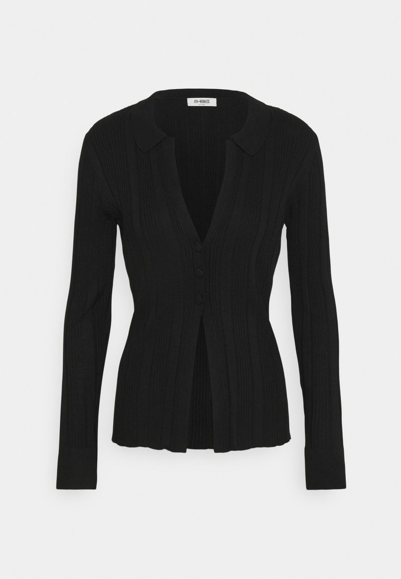4th & Reckless - ASPEN - Cardigan - black