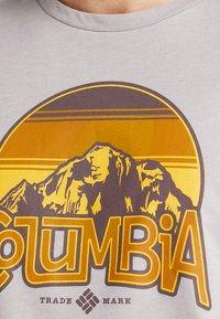 Columbia - BASIN BUTTE GRAPHIC TEE - T-Shirt print - grey heather - 5