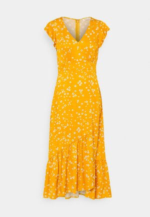Day dress - yellow/white