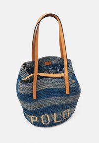 Polo Ralph Lauren - STRIPES - Tote bag - blue/multi - 3