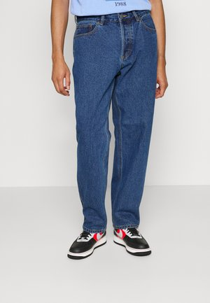 HARDWORK - Straight leg jeans - stone wash indigo