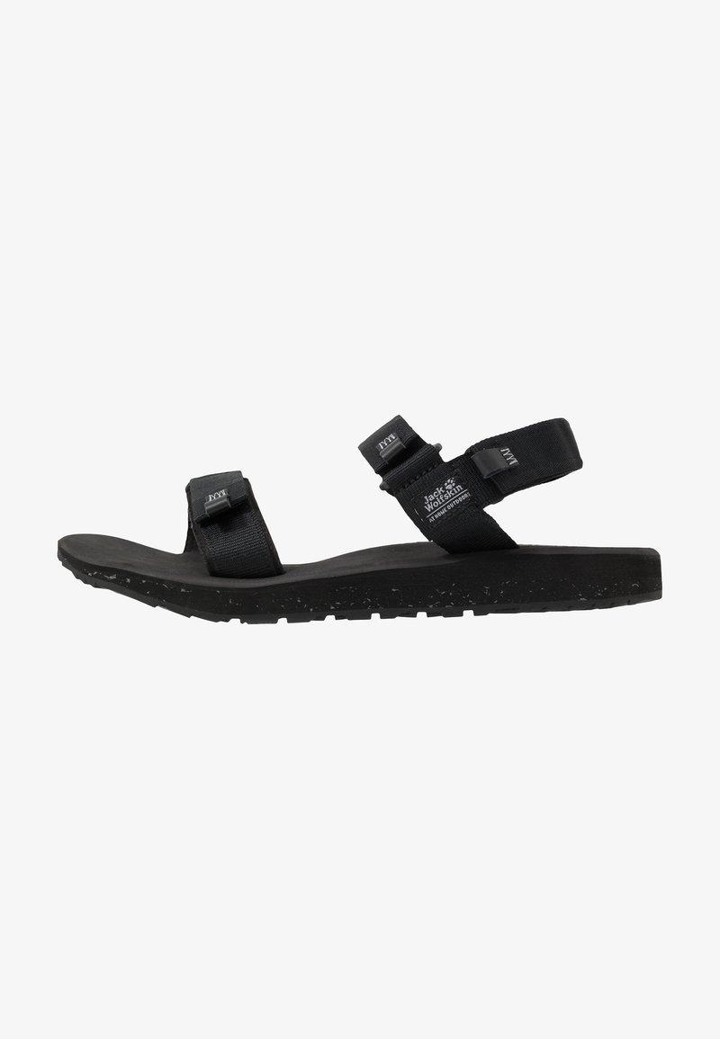 Jack Wolfskin - OUTFRESH - Walking sandals - black/light grey
