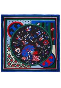 Tory Burch - PARADISE BIRD SQUARE  - Foulard - black - 3