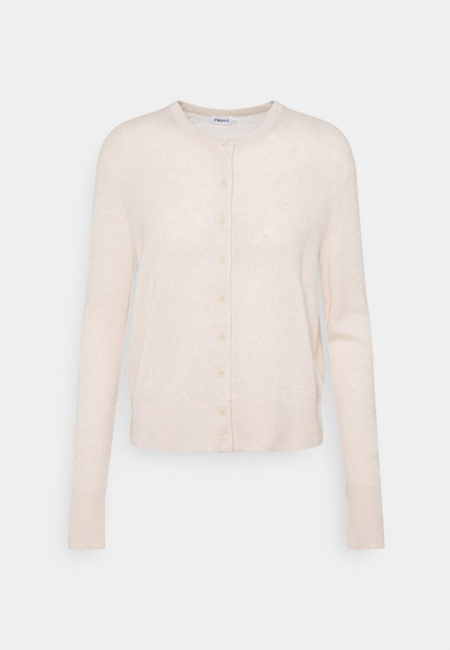 LOUISE CARDIGAN - Vest - natural beige