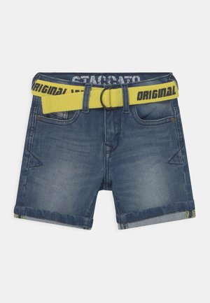 KID - Jeansshort - blue denim