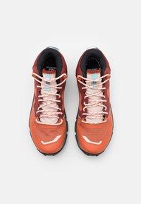 Salomon - PREDICT HIKE MID GTX - Scarpa da hiking - mecca orange/madder brown/crystal blue - 3