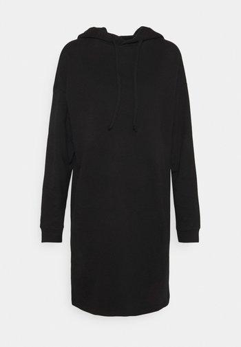 ONLDREAMER LIFE HOOD DRESS - Day dress - black