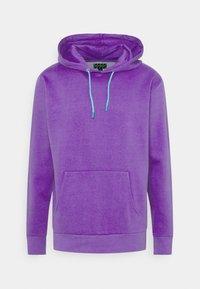 Urban Threads - COLOUR POP HOODY UNISEX - Hoodie - purple - 0