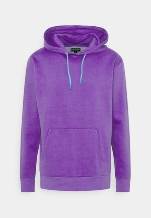 COLOUR POP HOODY UNISEX - Jersey con capucha - purple
