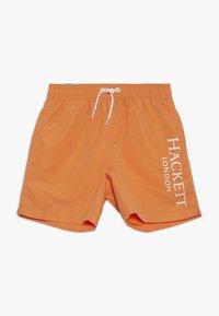 Hackett London - LOGO VOLLEY - Plavky - orange - 0