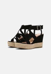 Bullboxer - taupe - High heeled sandals - black - 2