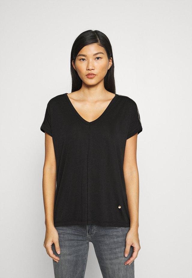 LENNOX TEE - T-shirt med print - black