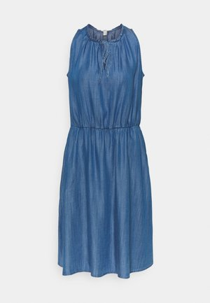 DRESS - Denimové šaty - blue medium wash