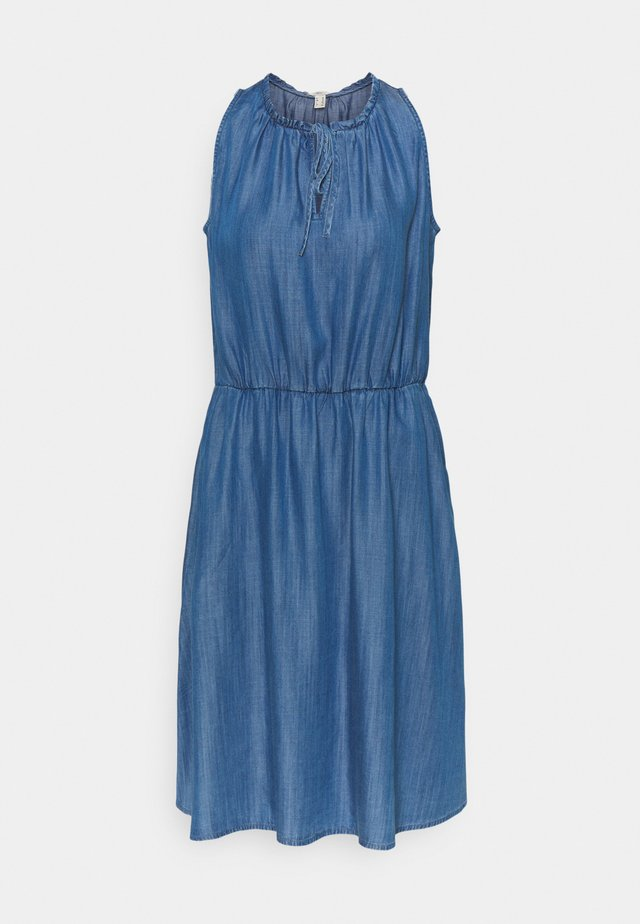 DRESS - Vestito di jeans - blue medium wash