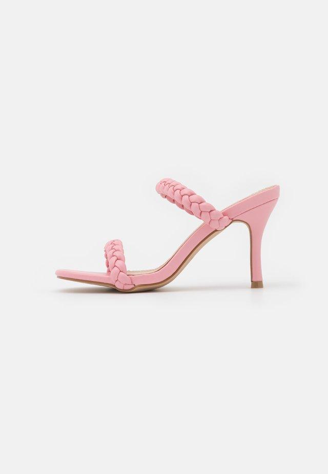 GILDA - Mules à talons - pink