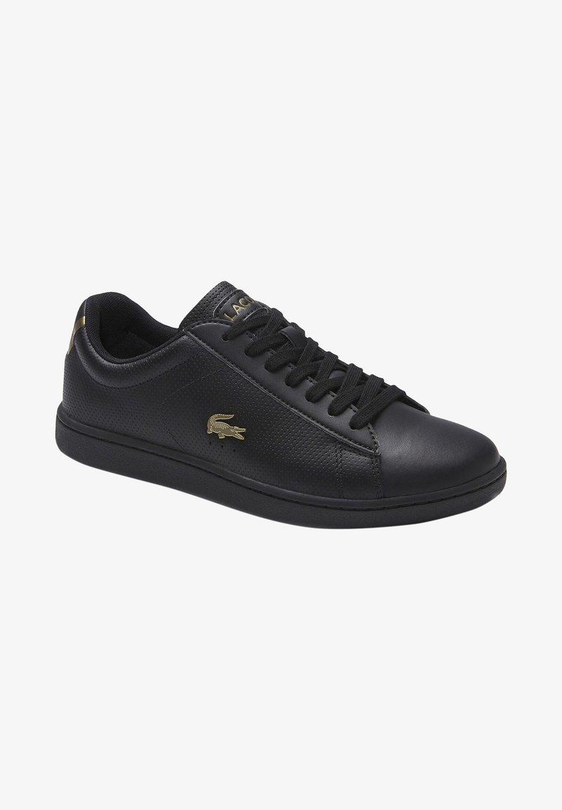 Lacoste - CARNABY EVO  - Sneakersy niskie - blk/blk