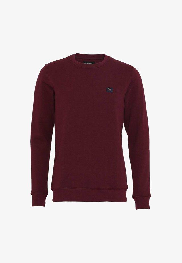 VIDARCC - Sweatshirt - wine