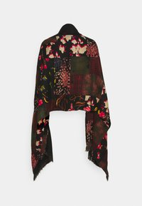 Desigual - PONCHO FREE STYLE PATCH - Kapper - black - 1