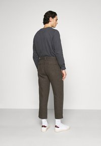 Afends - LIVELY ONES SUIT PANT - Trousers - silt - 2